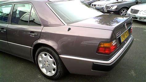 mercedes porsche 500e 1993 mercedes w124 500e saloon auto porsche built 326 bhp
