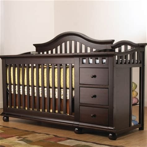 Sorelle Convertible Cribs Sorelle Cape Cod Convertible Crib And Changer In Espresso Free Shipping