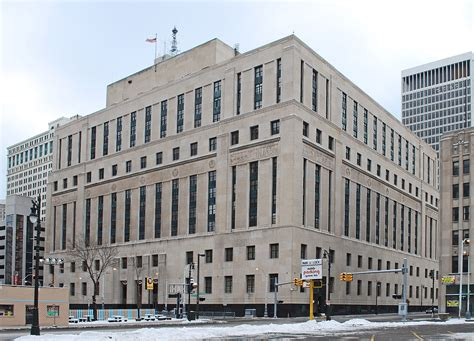 Detroit Michigan Court Search Theodore Levin United States Courthouse