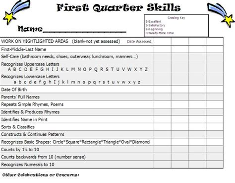 preschool report cards templates 28 sle report card template enernovva org