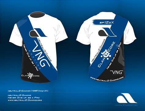 D F T Shirt Dsgn Blue neutraliz gaming t shirt design 2012 by studio4you on