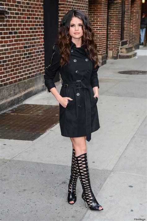 gomez boots selena gomez s boots bindi catch our photos huffpost