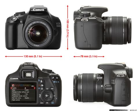 Kamera Dslr Canon Eos 1100d Kit 1 Color capture your moment with canon eos 1100d