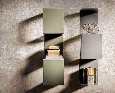 mensole in metallo mensole in metallo colorato modulare e di design