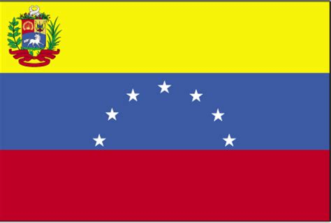 flags of the world yellow blue red horizontal cia the world factbook flag of venezuela