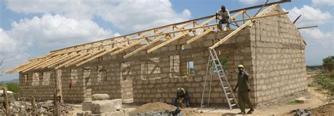 Local Shed Builders by Building Projects In Tanzania Projects Abroad