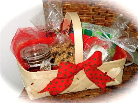 homemade holiday gift baskets