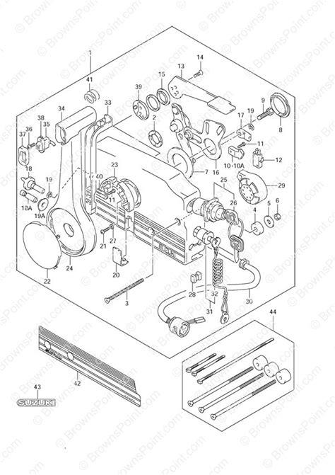 Fig. 52 - Opt: Remote Control - Suzuki DF 70 Parts
