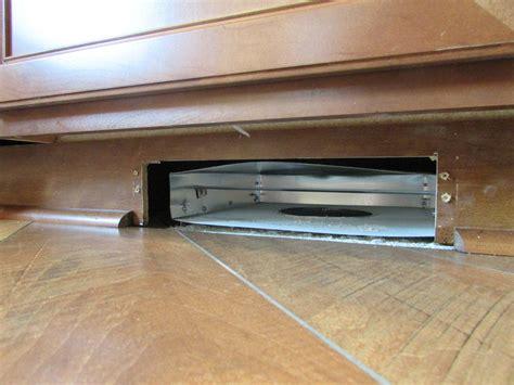 cabinet toe kick ducting kit toe kick duct images