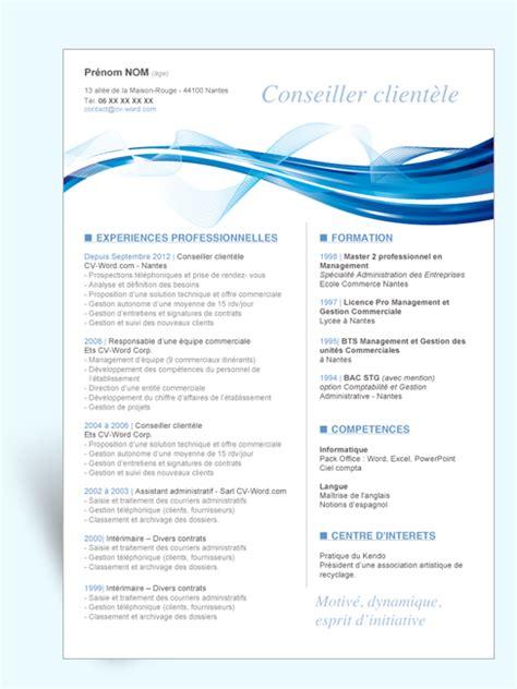 Exemple Lettre De Motivation école De Graphisme Mod 232 Le Cv Original Conseiller Client 232 Le Ii