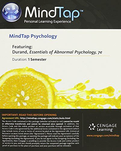 cj with mindtap 1 term 6 months printed access card new engaging titles from 4ltr press books essentials of abnormal psychology textbooks slugbooks