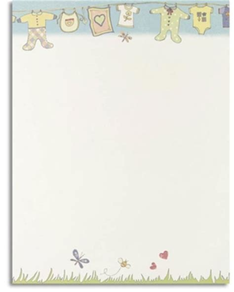 Baby Shower Printing Paper by Stationery Notecards Letterhead Stationery Papers Baby