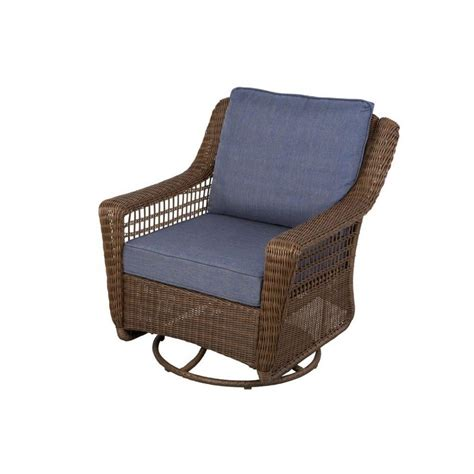 Furniture: Outdoor Swivel Glider Chair Home For You Patio