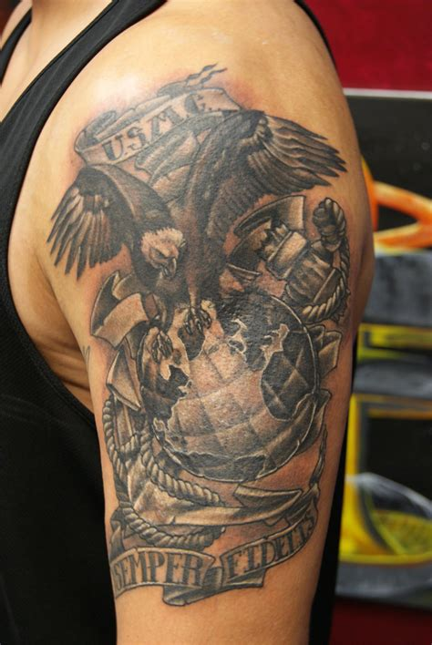 tattoo policy 75 cool usmc tattoos meaning policy and designs 2018