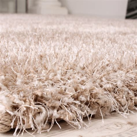hochflor teppich beige shaggy carpet high pile pile high quality yet