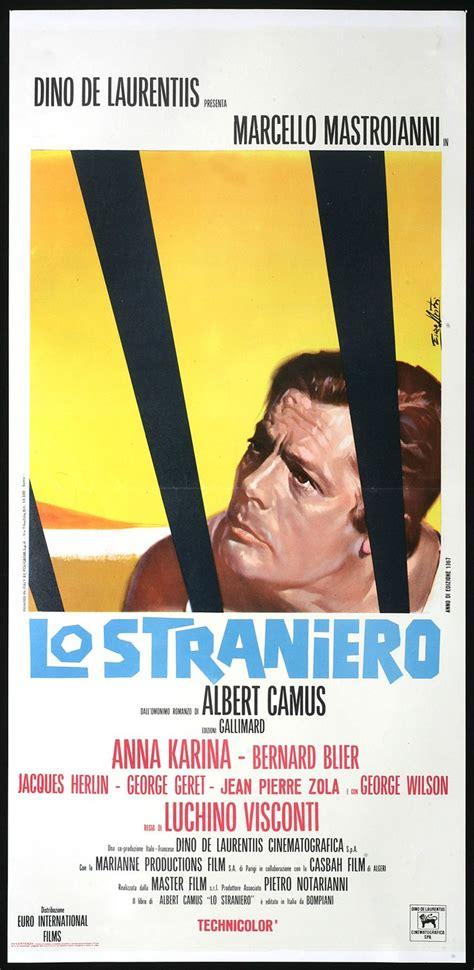 lo straniero the stranger l l 233 tranger lo straniero visconti 1967 from albert camus novel of the same name affiches