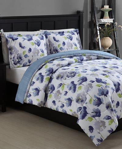 closeout emily reversible 2 piece twin comforter set