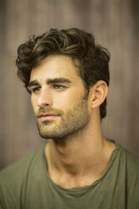 Thick Hairstyles For by Thick Wavy Hairstyles For Mens Hairstyles 2018