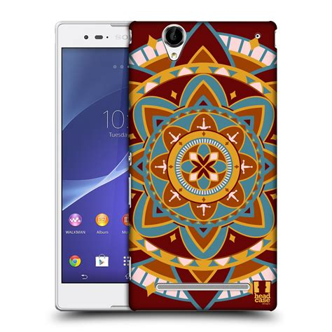 design mobile cover india head case designs indian monograms hard back case for sony