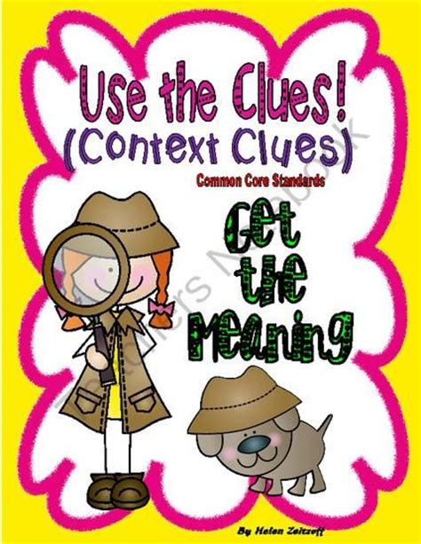 meaning in context and grammar english language usage context clues other and language on pinterest