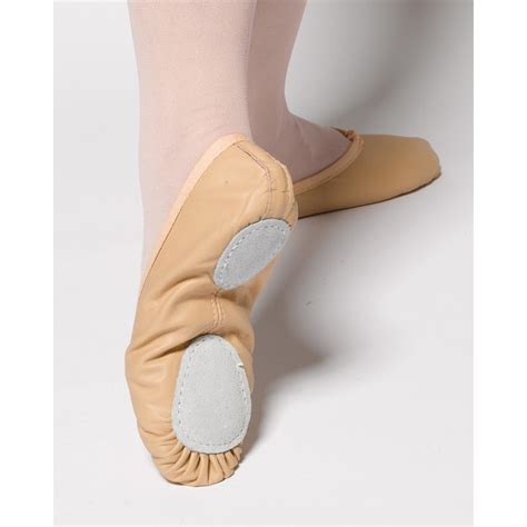 pink split sole leather ballet shoes dancewear universe