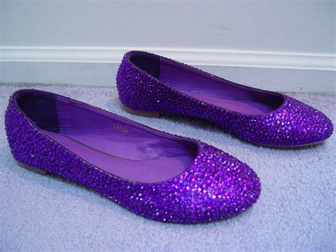 purple flat wedding shoes purple wedding shoes flats www imgkid the image