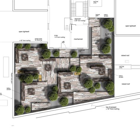 Roof Garden Floor Plan | the avenue on portage