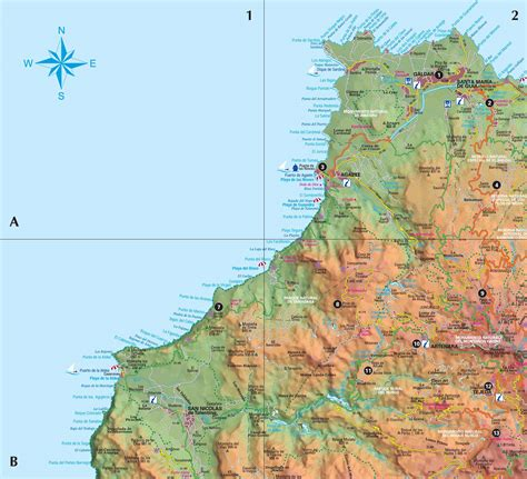 printable map gran canaria here are the links