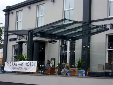 glass awnings canopies jd wetherspoons lytham st annes free standing glass canopy able canopies