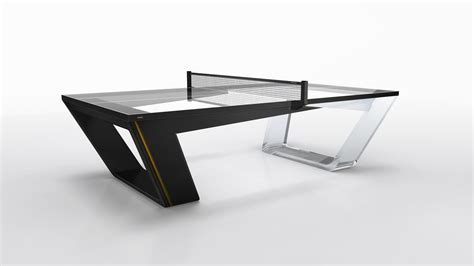 modern ping pong table eleven ravens designs stunning avetorre ping pong table