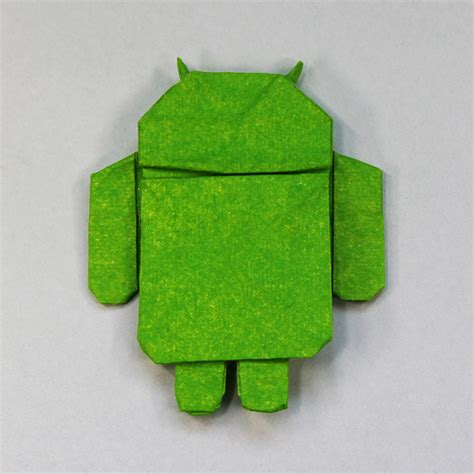 Origami Android - origami de android el androide libre