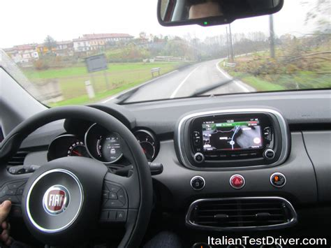 interno test italiano test drive fiat 500x cross plus interni 6