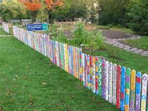 Ideas For School Gardens 40 Creative Garden Fence Decoration Ideas