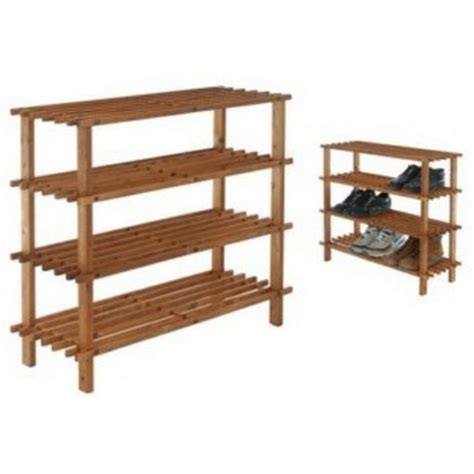 Etagere Chaussure Bois by 233 Tag 232 Re Meuble Rangement Chaussures Bois 4 233 Tages