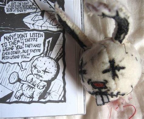 nail bunny plushie  jthm rabbit plushie sewing