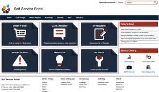 service now help desk servicenow self service portal compucom
