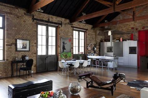 brick studio apartment studio space ideas
