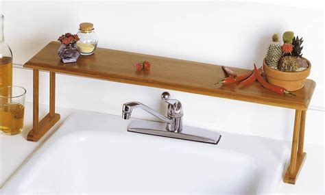 over the sink bathroom shelf 25 bathroom space saver ideas