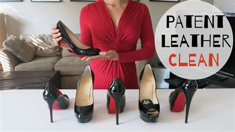 how to clean care and remove scuff on patent leather