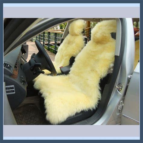 vintage sheepskin car seat covers smooth sheepskin wool fur seat cover