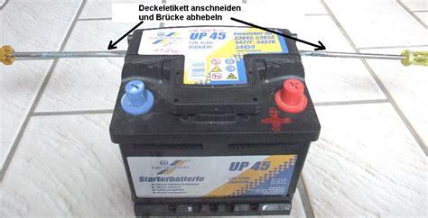 len mit batterie welche batterien haben noch zellenstopfen