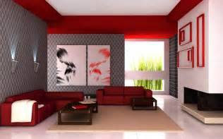 Livingroom Color Modern Home Living Room Paint Colors Design Red Scheme