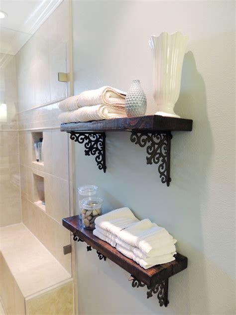 diy bathroom shelf ideas  designs