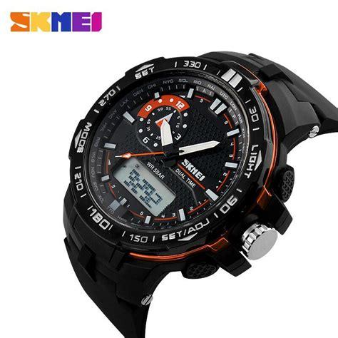 Skmei Jam Tangan Sport Pria Ad0990 skmei jam tangan sport pria ad1081 black orange jakartanotebook