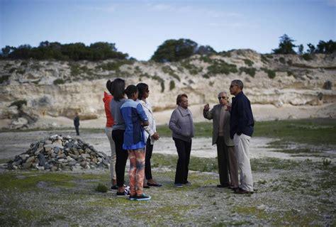 obama island obama a robben island la prigione di mandela per 19 anni