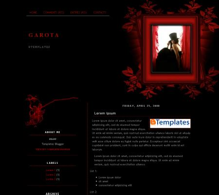 templates blogger horror free templates