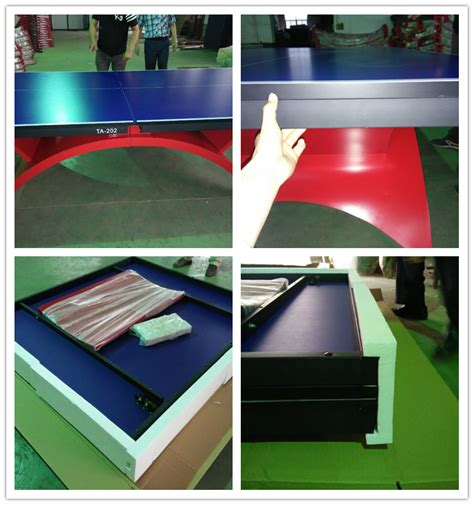 ping pong table brands brand big rainbow legs table tennis table 25mm