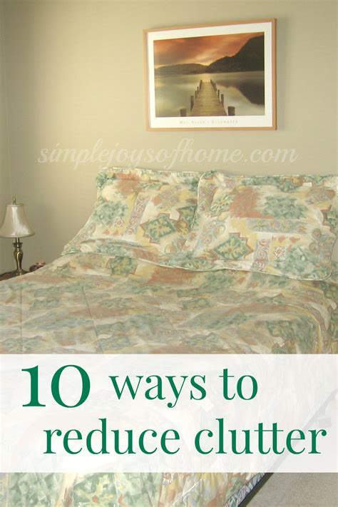 reducing clutter 10 ways to reduce clutter