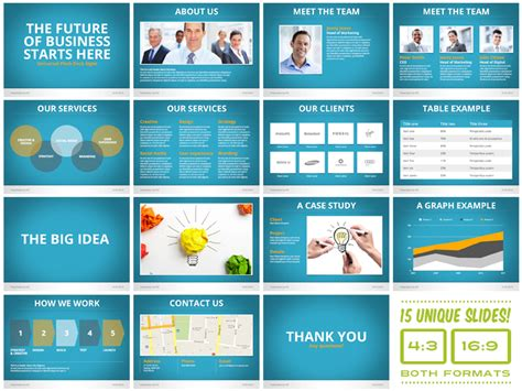 stock powerpoint templates the mega powerpoint presentation deck bundle