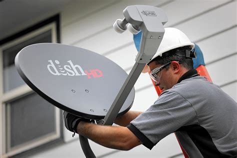 Satellite Dish Technician by Dish Drops Turner Cable Channels La Times